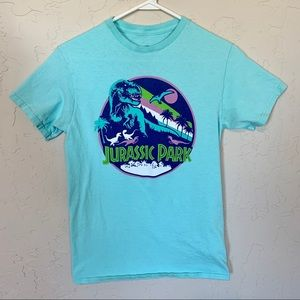 Pastel Jurassic Park graphic t-shirt size small